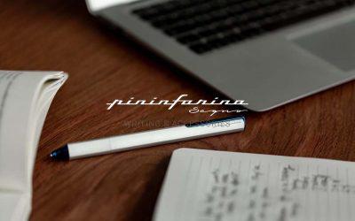 Pininfarina Segno reinventa la escritura